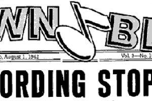 Banarea înregistrărilor în America celui de-al Doilea Război Mondial