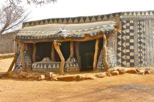 Un sat african este de fapt o operă de artă