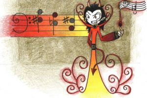 Tritonul şi muzica demonică din Evul Mediu