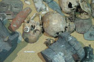 Misterul măştilor-cranii aztece