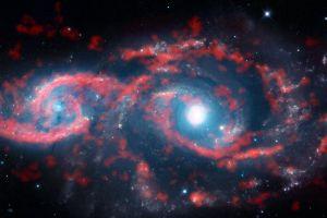 Coliziunea galaxiilor creează formaţiuni uimitoare de stele asemănătoare unor ochi