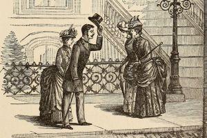 De când îşi ridică pălăria bărbaţii?