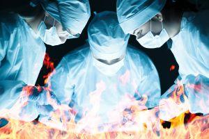 Flatulenţa din timpul unei intervenţii chirurgicale poate cauza incendiu