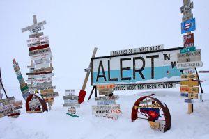 Alert: cea mai nordică aşezare din lume