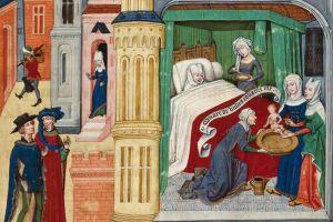 În Evul Mediu, reginele năşteau cu spectatori