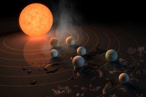 NASA a descoperit un sistem solar plin cu planete asemănătoare Pământului