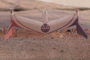 Drona care ar putea survola suprafaţa planetei Marte
