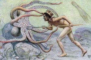 Luptele pentru caracatiţe, un sport uitat de vreme
