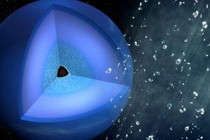Pe Uranus şi Neptun plouă cu diamante în stare solidă