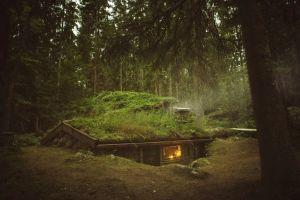 Cabanele Backstuga din Suedia