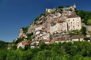 Rocamadour, satul vertical