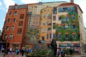 Lyon, oraşul picturilor murale